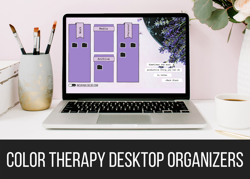 Color Therapy Desktop Organizers
