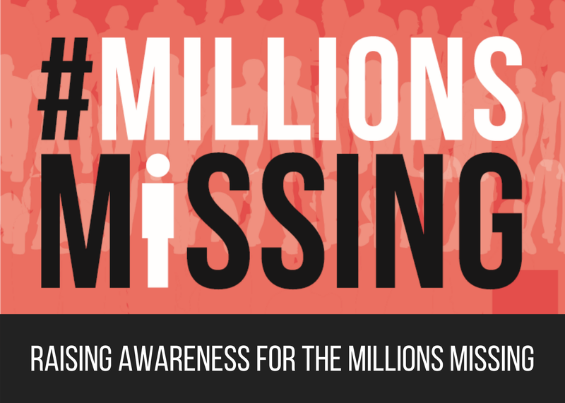 Raising Awareness for the Millions Missing
