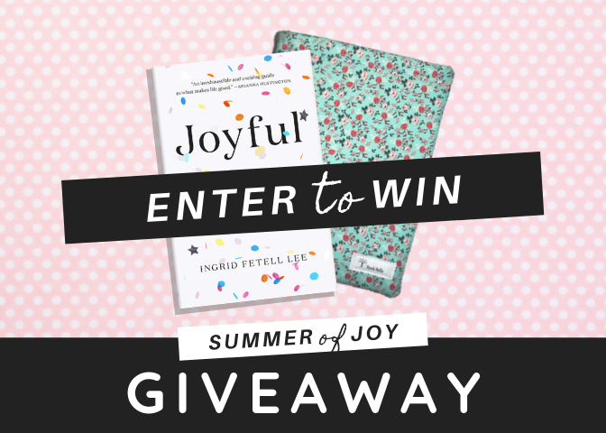 Summer of Joy Giveaway