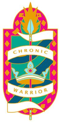 Abi's new Chronic Warrior pin design