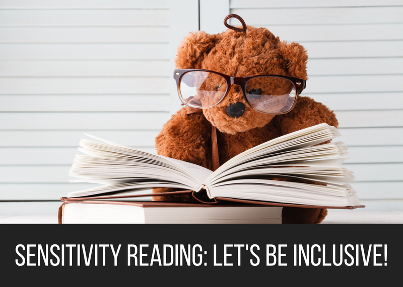 Sensitivity Reading: Let's Be Inclusive!